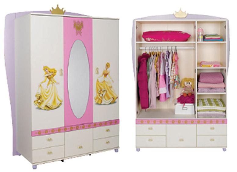 Шкаф 3 дв, princess.